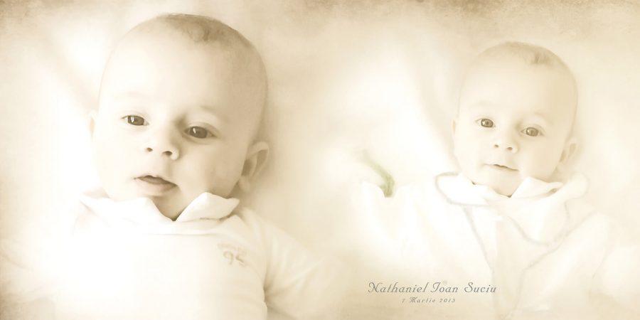 Album fotocarte profesional botez Nathaniel