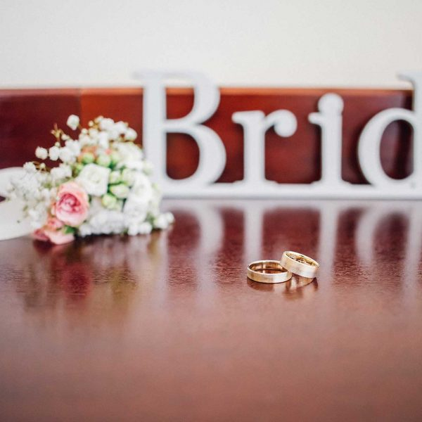 Detaliu verighete bride