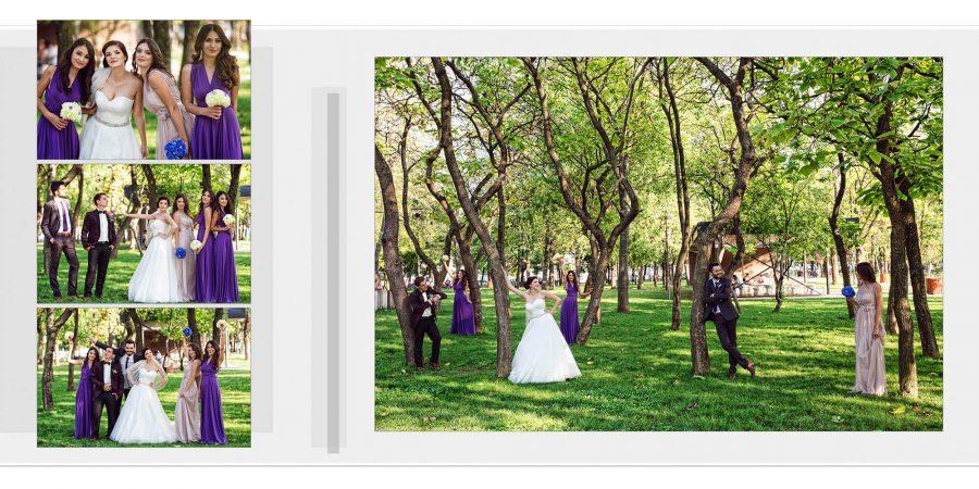 Editare fotografii album fotocarte nunta Gabi si Catalin
