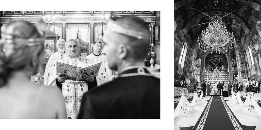 Fotobook alb negru biserica nunta
