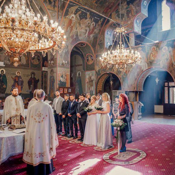 Fotografie cununia religioasa Alexandra