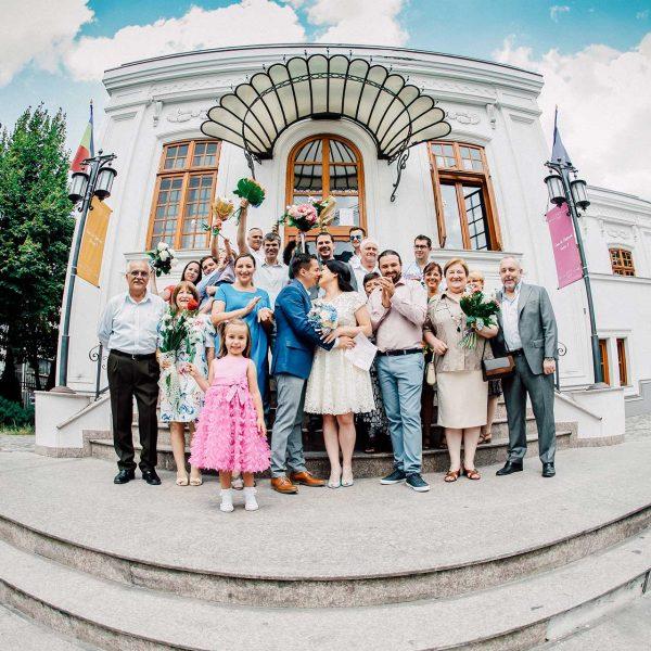 Fotografie de grup la starea civila sector 3 Bucuresti
