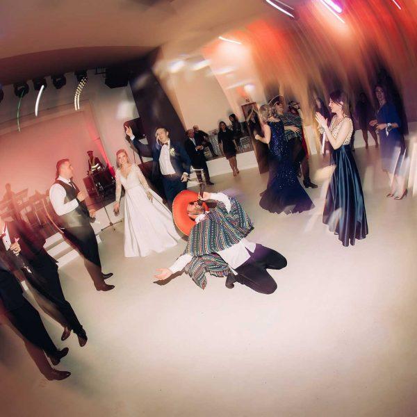 Fotografie de nunta abstracta