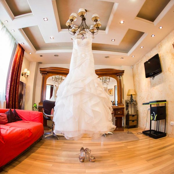 Fotografie detaliu rochie de mireasa Cristina