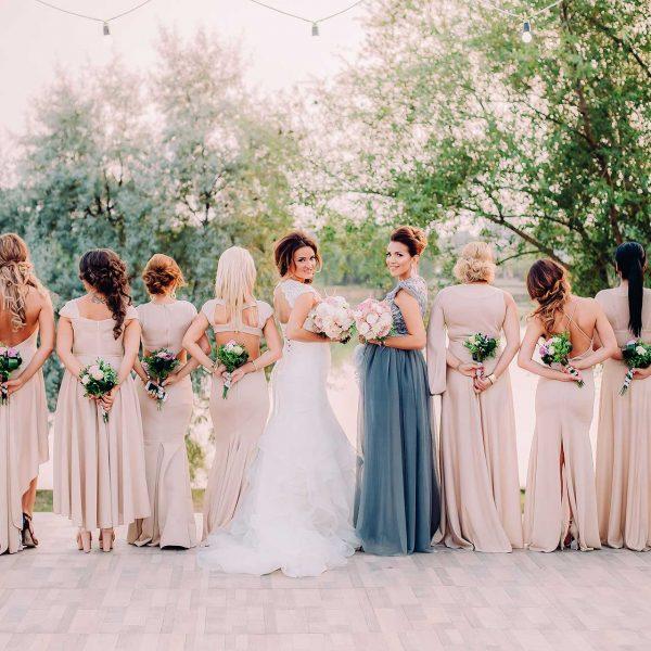 Fotografie domnisoarele de onoare nunta Cristina si Tiberiu