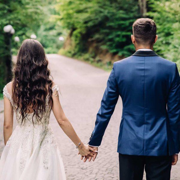 Sedinta foto dupa nunta la munte