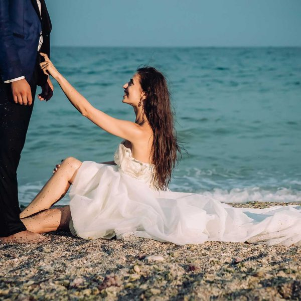 Trash the dress erotic la mare